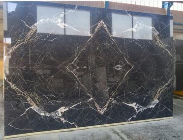 Luxury 3D Black Marble
